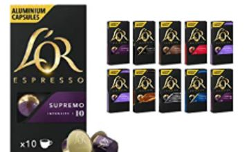Up to 33% off in L'OR and Kenco Nespresso Compatible Capsules