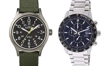 Up to 30% off Timex and Citizen watches