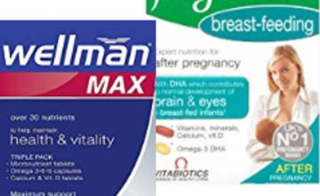 Up to 45% off selected Vitabiotics