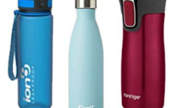 Up to 35% off Travel Mugs and Water Bottles