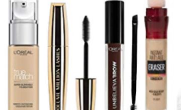Up to 40% off Make Up by L'Oreal, Maybelline And More