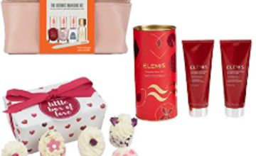 Up to 40% off Gifting by Bomb Cosmetics, Elemis, Sally Hansen and more