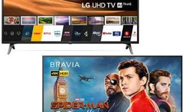 Up to 30% off TVs from LG, Sony and more