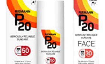 Up to 50% off P20 Sun Care