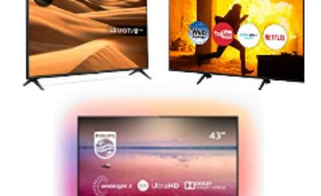 Up to 40% off TVs from LG, Philips, Sony and more