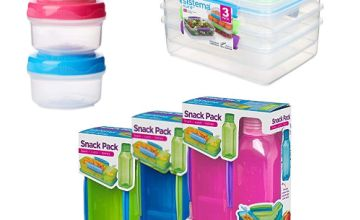 Up to 30% off selected Sistema products