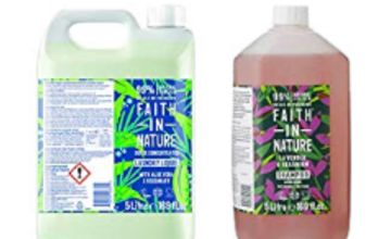 Up to 40% off Faith in Nature 5L Laundry and Body Wash