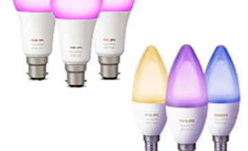 41% off Philips Hue White and Colour Ambiance 3 Pack Bulbs