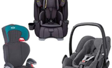 Up to 35% off selected Car Seats