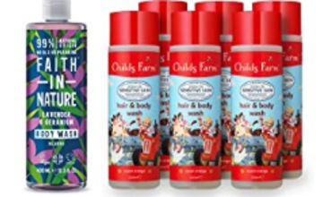 Up to 43% off selected Faith in Nature and Childs Farm