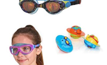 Up to 24% off on selected Zoggs goggles, nappies and more