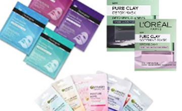 Up to 40% off Face Masks from Neutrogena, L'Oreal, and Garnier