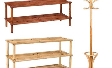 20% off Coat Stands and Shoe Racks