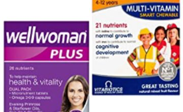 Up to 55% off selected Vitabiotics