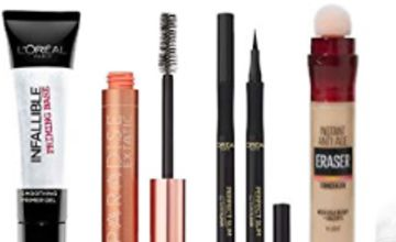 Up to 35% off Make Up by Maybelline and L'Oreal Paris