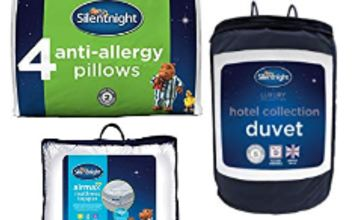 15% off Silentnight Duvets, Pillows, Mattress Toppers and more
