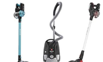 Up to 25% off selected Hoovers