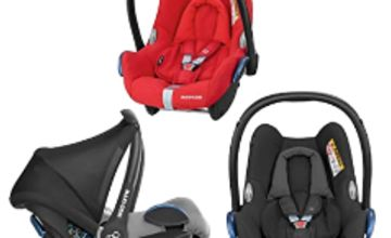 Up to 20% off selected Maxi-Cosi and Britax car seats