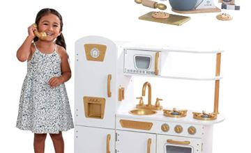 Save up tp 20% on Wooden Kitchen for Kids and accessories