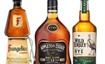 Over 15% off Frangelico Hazelnut Liqueur, Appleton Estate 12 Year Old Rare Blend Gold Rum, Wild Turkey Kentucky Rye Whiskey and more
