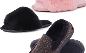 Up to 30% off Memory Foam Slippers