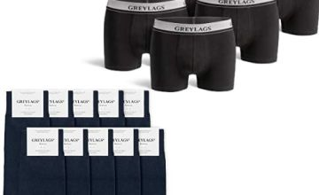 Up to 46% off Men's Socks and Boxers