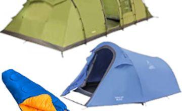25% off Vango & Lichfield Tents, Airbeds & Sleeping Bags