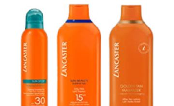 Up to 30% off Lancaster Sun Care
