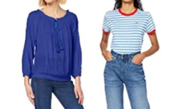 Up to 30% off on Women's Tops by Champion, Lee, Betty Barclay and more