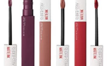 35% off Maybelline Superstay Lipstick