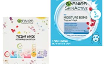35% off Garnier Face Masks