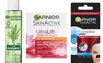 Up to 40% off Garnier Skin Care