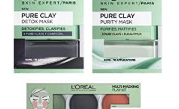 Up to 44% off L'Oreal Paris Face Masks