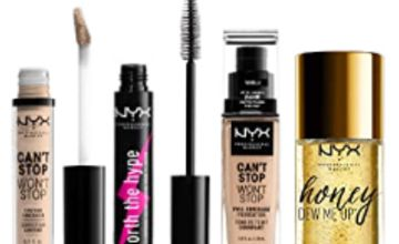 Up to 35% off NYX Make Up