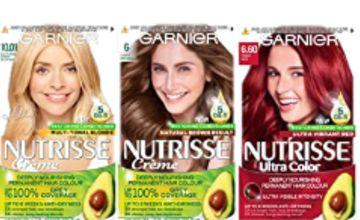 30% off Garnier Nutrisse Hair Dye