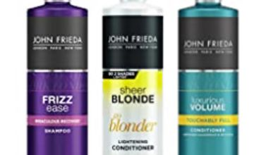 25% off John Frieda Shampoo and Conditoner Bundle Pack