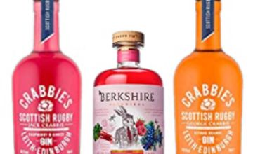 Over 25% off Crabbies Raspberry and Ginger Gin, 70 cl and more