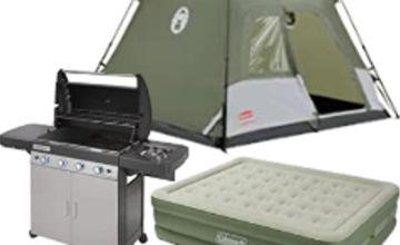 Up to 40% off Coleman & Campingaz Outdoor Essentials