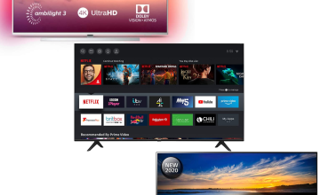 Up to 20% Off on LG, Sony, Philips and Hisense TVs