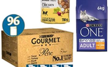 Up to 41% off Gourmet, Purina and Beyond Cat Food