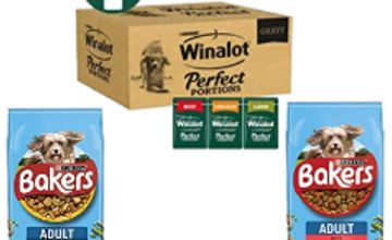 Up to 36% off Bakers and Winalot Dog Food