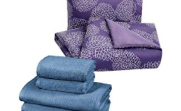 Save up to 25% on Bedding and Bath towels from AmazonBasics and more
