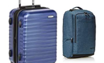 Up to 20% on Luggage and Travel products from AmazonBasics