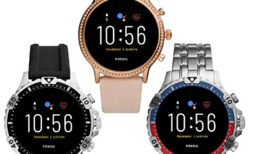 Up to 50% off Fossil Smartwatches, Armani & Diesel Watches