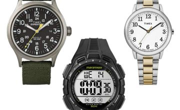 Up to 55% off Timex watches