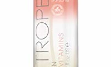 St Tropez Fake Tan, Self Tan Purity Vitamins Bronzing Body Mist, Clean, Vegan Tanning Water with Vitamin C, Vitamin D and 100 Percent Natural Tanning Active, 200ml 100107248