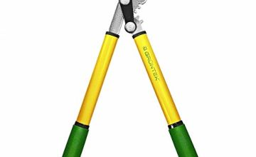 GRÜNTEK Anvil Pruning Loppers 470 mm, SHARP lopping shear GRIZZLY 470 mm, with Gear Drive cutting system. TWO in ONE Secateur and loppers !!