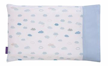 Save on Clevamama Replacement Baby Pillow Case, 100% Cotton - Blue and more