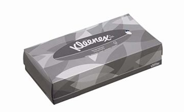 Kleenex 8835 Facial Tissue Box , 2 Ply, White,  21 boxes x 100 Sheets