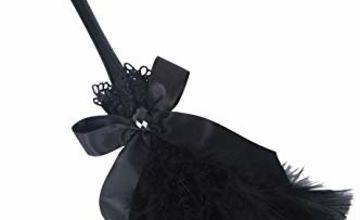 Smiffys Gothic Feather Duster - Black